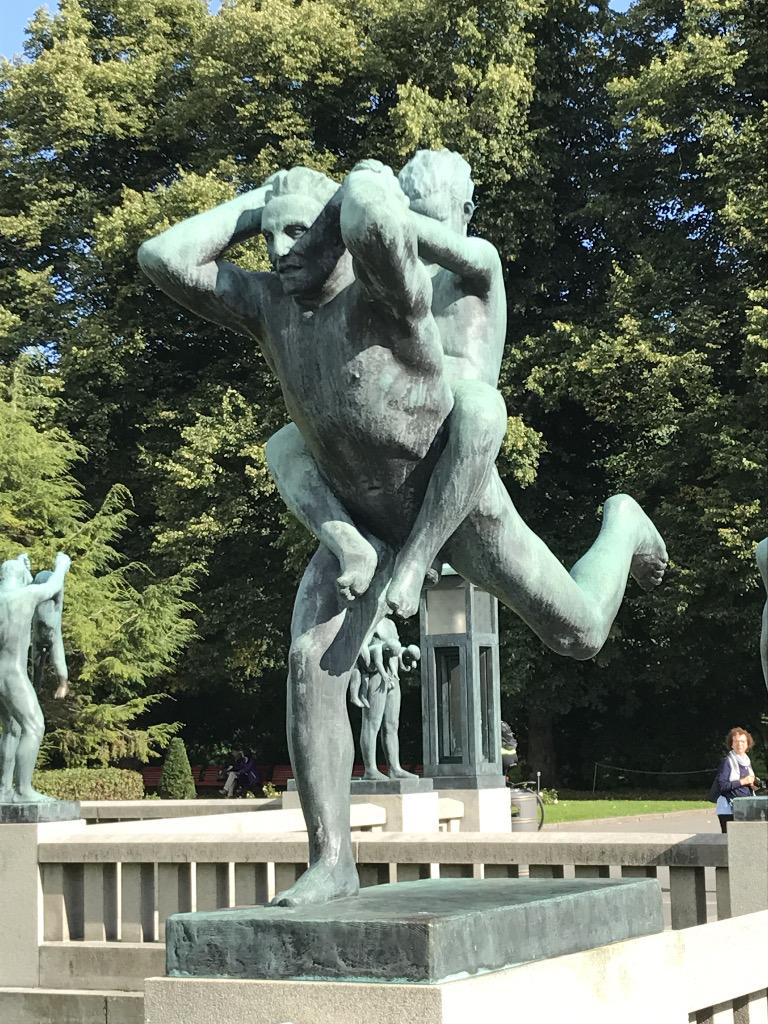 Gustav Vigeland_5_ninschart_kunst_art_oslo_skulptur_park_skulpturen