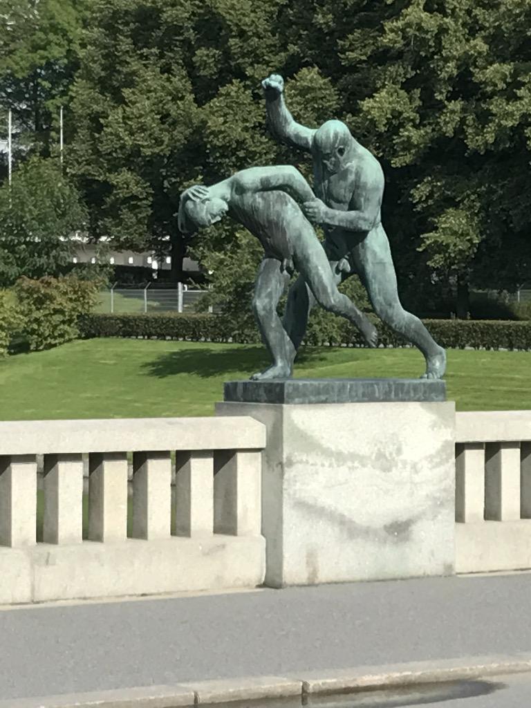 Gustav Vigeland_9_ninschart_kunst_art_oslo_skulptur_park_skulpturen