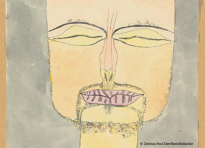 Selbstportrait von Paul Klee
