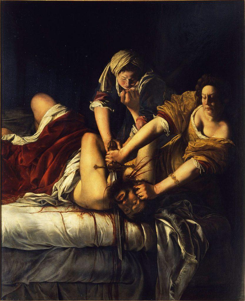 Judith enthauptet Holofernes